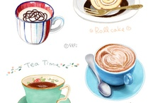 Watercolor - food