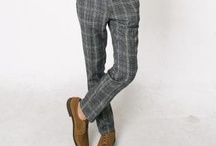 Plaid pants / I like swing plaid pants with cuffs for myself   In 100% wool. This board is to collect all those awesome plaid pants to serve as an idea board.