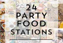 24 food stations