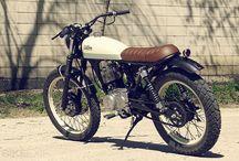 Cafe Racer c/pequenas motos