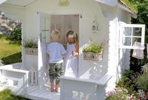 OUTDOOR - Play: Swingset, Playhouse, Games, etc. / by stylish things