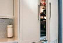 Fridge/Freezer closet