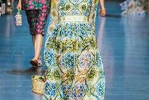Dolce & Gabbana Summer 2016 'Italian Summer' Women Collection / Wildflowers and Citrus take over