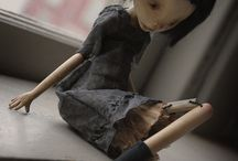 Art dolls and puppets-with heart and soul / Imagination,fantasy,creativity / by Wandmade-Textile art with a hint of fairy tale