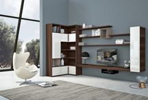 Awesome corner wall unit