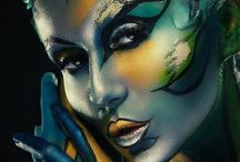 FACE AND BODY ART  / Without art, the crudeness of reality would make the world unbearable ~ George Bernard Shaw