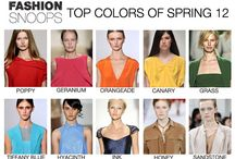 THE COLOR OF FASHION / by Adonica Wright