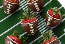 Football snacks / by Kristina Andrews