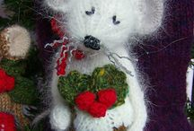 Toys - crochet, knit and stitched