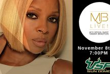 Mary J. Blige - November 8, 2015 / Mary J. Blige is coming to the USF Sun Dome on Sunday, November 8, 2015 at 7:00PM. The show will also feature R&B star Tamar Braxton.