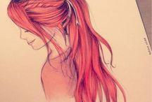 Disegni dei capelli
