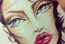 Makeup Charts