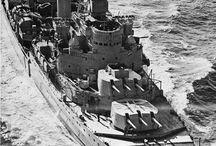 Battleships and Cruisers