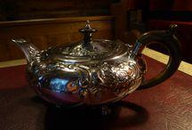 Silver teapot / English 1810 Benjamin Smith