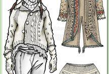 Эскизы одежды