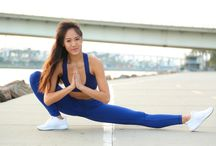 Enmeshed in Tranquility / Fashion forward activewear for all your active needs, featuring Amanda Suyao.