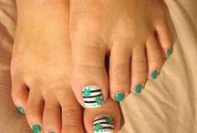 uñas pies