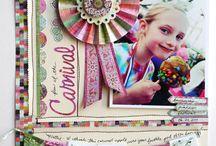 52/6 Scrapbook oldalon a karneváli forgatag | Make scrapbooks of carnivals / Készítsünk karneváli témájú scrapbook alkotásokat télvíz idején vagy egész évben bármikor, az ünneptől függetlenül! http://www.scrapbook.hu/2013/02/06/scrapbook-oldalon-karnevali-forgatag