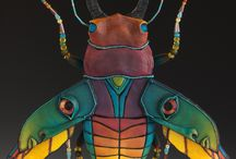 Chpt ty / Painted insect carapace