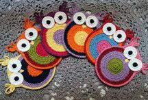 Tricô e Crochet - Meu trabalho / Produtos artesanais feitos com carinho.