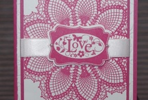 Hello doily cards