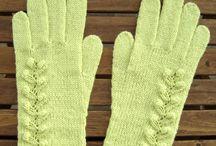 Перчатки, варежки, митенки