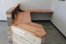 meja kasir barber