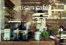 Flat White artisan cafe, Athens, Greece / speciality coffee and homemade desserts