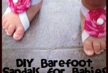 Sapatos de bebe / lindos e faceis de fazer =)