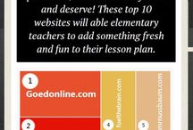 Teaching websites