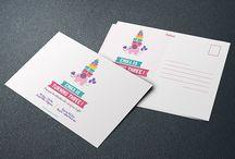Invitation Postcard of BIRTHDAY