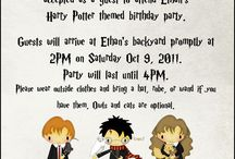 Harry Potter Party / Host a Harry Potter themed party! Ideas, games, recipes, crafts and more