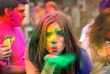 Holi Fest - INDIA / Festival del color en India    Festival of the colours in India II  El festival de primavera, también conocido como el de los colores y la fiesta de amor. II Holi is a spring festival also known as the festival of colours or the festival of love.