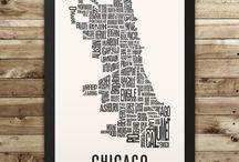 Neighborhood Typography Maps