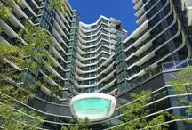 One Pacific / http://urbanyvr.com/one-pacific-pool-glass-bottom-concord
