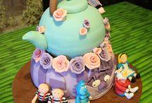 Little Cakes House / tartas fondant