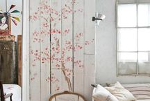 House wall painting