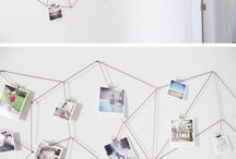 Instax photo display