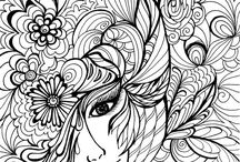 Adult coloring Therapy