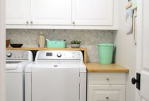 Laundry Rooms / by Christine Feight