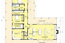 L alakú házak