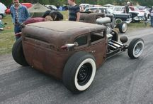 Rat Rods / Hot rods and bikes that have been built from old parts
