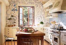 romantic kitchens