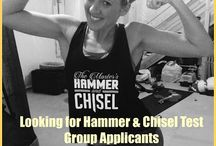 "The Masters Hammer & Chisel / Follow this board to watch me as my husband and I journey thru The newest Beachbody program - ""The Master's Hammer & Chisel."""