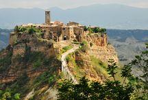 Italian Hilltop Picturesque Villages