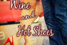 Book: Wine and Hot Shoes / Hot Shoe:  1. Driver who has the most past wins among active drivers at a particular track; is the quickest in qualifying, and is favored to win at that track. 2. Gorgeous footwear. This Thanksgiving, Sgt. Audrey McNeil Watson is thankful for wine. Lots and lots of wine. And her closet of hot shoes. Together, they help her deal with the return of her sexy ex-boyfriend, now a famous NASCAR Champion.