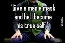 The Joker / The best Villain ever .