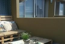 pallet balcony furniture