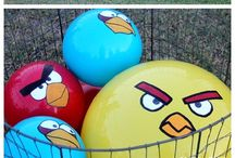 angry birds / by Flaka Gabriela Sanchez Robles