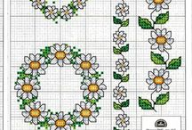 Esquemas de Flores / esquemas de Flores para Bordar en Punto de Cruz